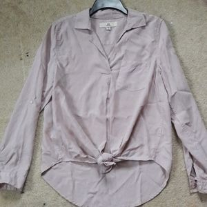 Thread Supply Asymmetrical blouse